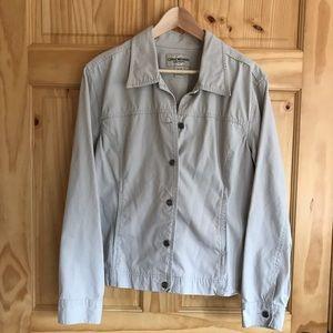 Cherokee cotton khaki jean jacket, plus Size 18